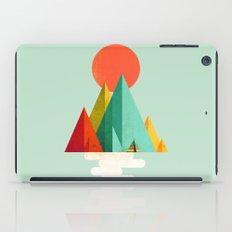 Little Geometric Tipi iPad Case