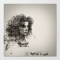 Involuntary Dilation Of … Canvas Print
