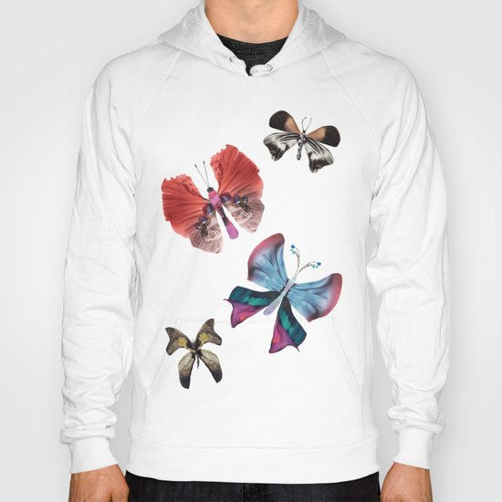 Floating Butterflies Hoody