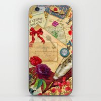 Vintage Love Letters iPhone & iPod Skin