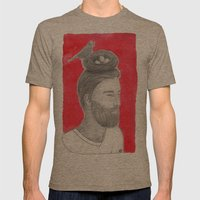 Nest-head Mens Fitted Tee Tri-Coffee SMALL