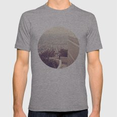 Vermont Avenue Mens Fitted Tee Athletic Grey SMALL