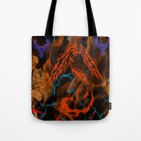 Phoenix Flame Tote Bag