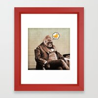 Gorilla My Dreams Framed Art Print