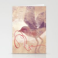 The red string Stationery Cards