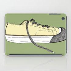 Sneaker in profile iPad Case