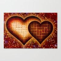Lego Love - 162 Canvas Print