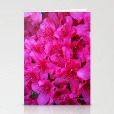Pink Azaleas Stationery Cards