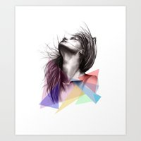 Crystalised // Fashion I… Art Print