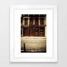 Greene Street SoHo Framed Art Print