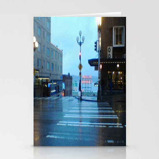 Seattle. Stationery Card