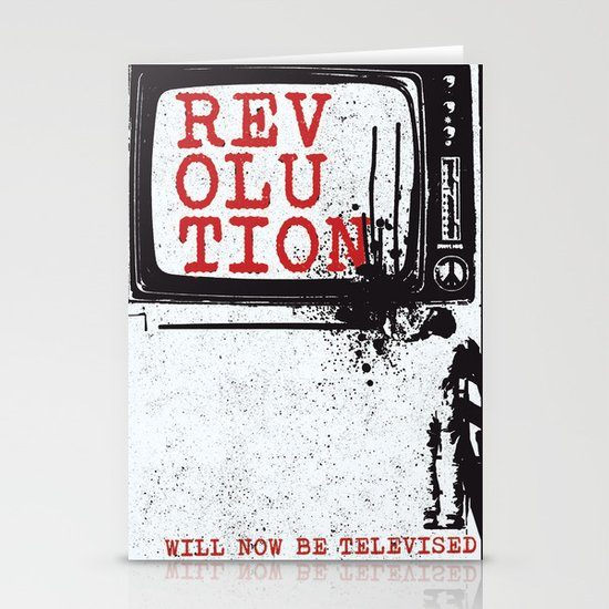 revolution Stationery Card
