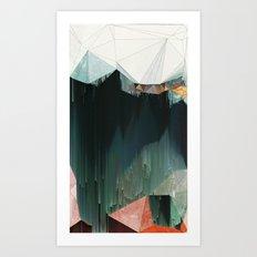 BRKNRFLCTN Art Print