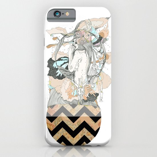 floral ego iPhone & iPod Case