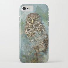 Cute Owl iPhone 7 Slim Case