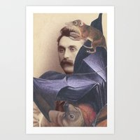Salvaged Relatives (08) Art Print
