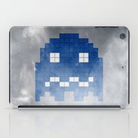 Pac-Man Blue Ghost iPad Case