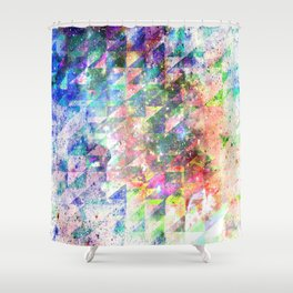 Shower Curtain - GLITCHED - EXITVS