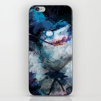 Penguin Painting iPhone & iPod Skin