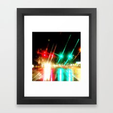 Always Stop and Go Framed Art Print