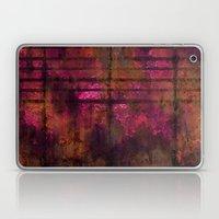 Lined Rainbow Rusted Metal Look Laptop & iPad Skin