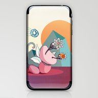 iPhone & iPod Skin featuring Fly By by /CAM