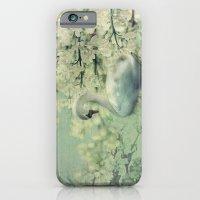 iPhone & iPod Case featuring Swan by Ellen van Deelen