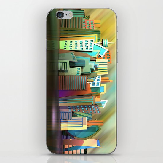 City of Color iPhone & iPod Skin