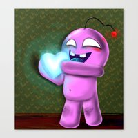 Valentine Bob Canvas Print