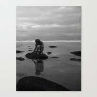 Untidaled Canvas Print