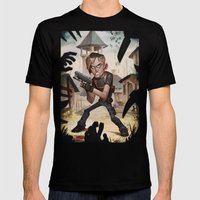 Resident Evil 4 Mens Fitted Tee Black SMALL