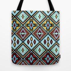 NATIVE AMERICAN PRINT Tote Bag