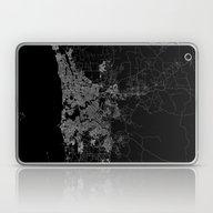 Perth Map Australia Laptop & iPad Skin