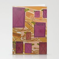 Gas Power Stationery Cards