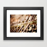 Iron Clad Framed Art Print