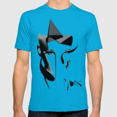 Bjork Mens Fitted Tee Teal SMALL