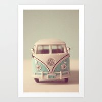 VW Explore Art Print