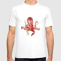 Octo Mens Fitted Tee White SMALL