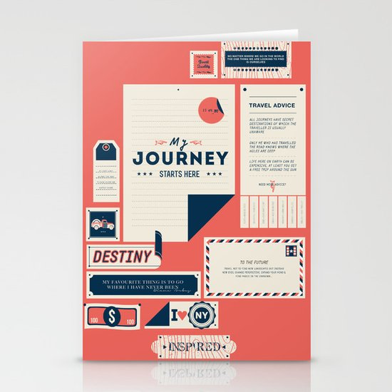 The Destination Stationery Card