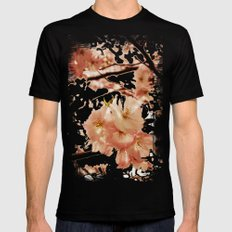 Blossom Crush SMALL Black Mens Fitted Tee