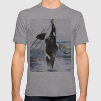 Marine Star Mens Fitted Tee Athletic Grey SMALL