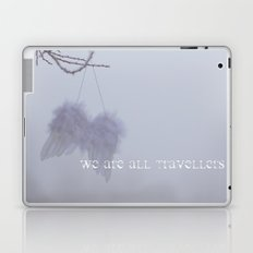WE ARE ALL TRAVELLERS Laptop & iPad Skin