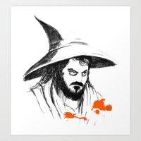 You're Wizard Stanley Art Print