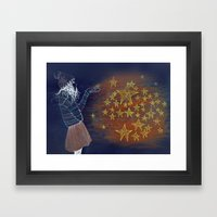 brightstar Framed Art Print