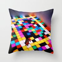 This Is NY Throw Pillow