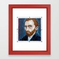 Vincent Van Gogh Framed Art Print