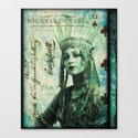 Letters From The Dark Queen (fairy tale) Canvas Print