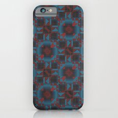 Red and blue Geometric Slim Case iPhone 6s