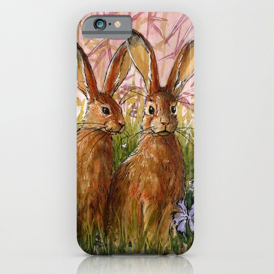 Happy Bunnies A0072 iPhone & iPod Case