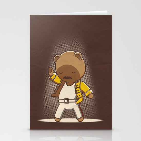 Teddy Mercury Stationery Card